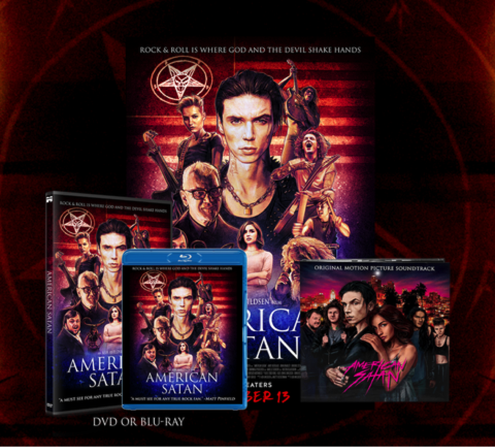 American Satan Available To Buy Now!