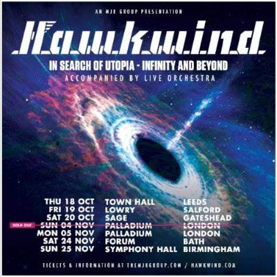 Hawkwind Tour Dates 2018